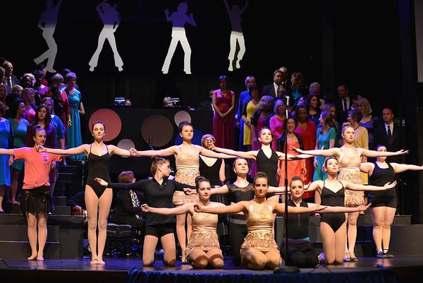 Carolina Voices Bandstand Boogie at McGlohon Theatre Spirit Square 2014