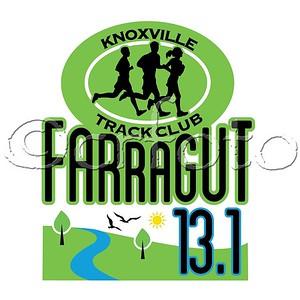 2017 Farragut 13.1 half marathon, relay, 5k
