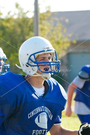 CCS '10 Football practice