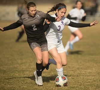 Kaneland girls soccer vs. Hampshire