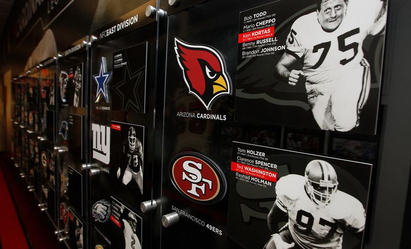LOUISVILLE FOOTBALL NFL DISPLAY | design by David Klotz