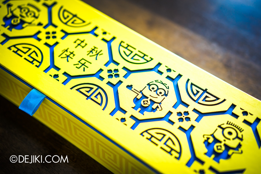 Universal Studios Singapore - Park Update September 2016 / Minion Mooncake box