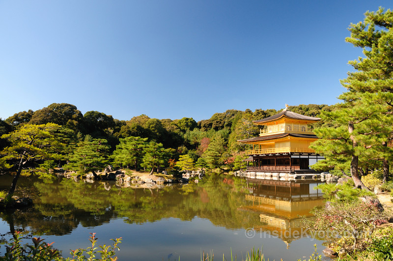 Kinka-ju Temple - The Golden Pavilion - Kyoto