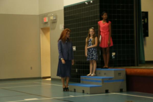 Courtneys 5th Grade Awards June 2014