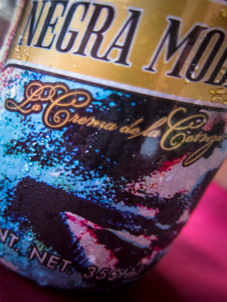 I have rediscovered cerveza; after months without, truly enjoyed!