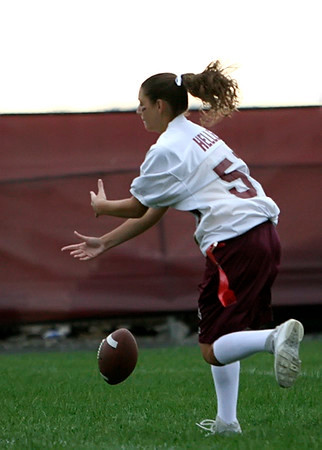SNHS Football vs PowderPuff 2007