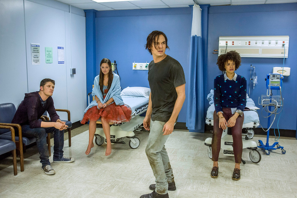 """. RAVENSWOOD - \""""Death and the Maiden\"""" - Caleb struggles in the aftermath of what happened at the Ravenswood Homecoming Parade in \""""Death and the Maiden,\"""" an all new episode of ABC Family\'s original series \""""Ravenswood,\"""" airing Tuesday, October 29th (8:00 - 9:00 PM ET/PT). (ABC FAMILY/Skip Bolen)"""