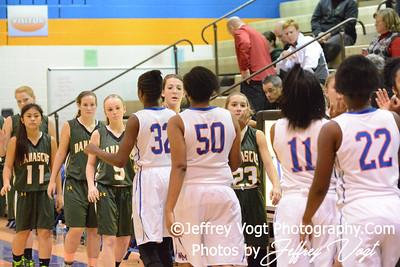12-17-2014 Watkins Mill HS vs Damascus HS Varsity Girls Basketball, Photos by Jeffrey Vogt Photography