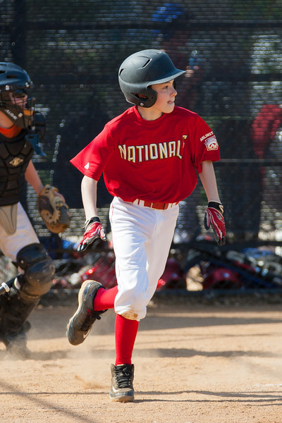 Mac hits a 2-RBI double in the bottom of the 3rd inning. Nats trail 2-4. The Nationals struggled on both offense and defense in a 2-11 loss to the Orioles. They are now 7-4 for the season. 2012 Arlington Little League Baseball, Majors Division. Nationals vs Orioles (19 May 2012) (Image taken by Patrick R. Kane on 19 May 2012 with Canon EOS-1D Mark III at ISO 400, f4.0, 1/1600 sec and 235mm)
