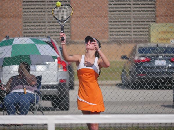 ECHS Tennis versus West Bladen 08/23/18