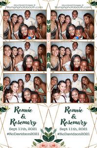 9/11/21 - Ronnie & Rosemary Wedding
