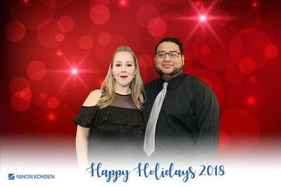Nihon Kohden Holiday Party 2018