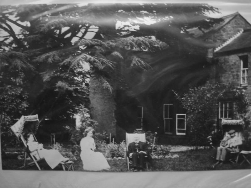 Backgarden of The Cedars, High Street opposite The Green