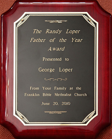 Randy Loper Father of the Year 2010