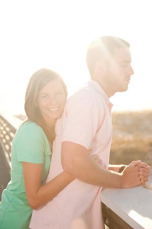 Justin and Jessica.  St. Andrews State Park, Panama City Beach.