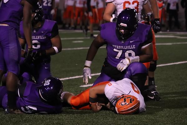 FOOTBALL La Porte VS Merrillville - Merrillville Homecoming 2021