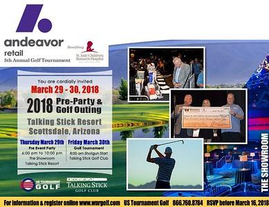 2018 Andeavor Retail PreParty & Golf Tournament