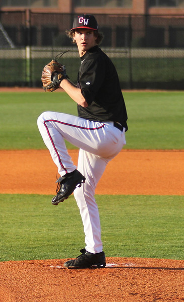 Brandon Boling's windup against a batter from UNC-Asheville on Friday March 18th, 2011.