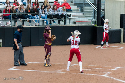 UW Sports - Women's Softball - April 29, 2015