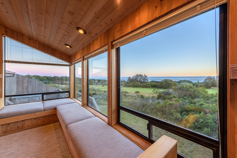 Living Room with Sunset Views