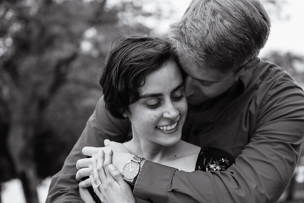 Marie & Brendan's Charles River Engagement Session
