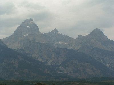 vacation 2006 Tetons and Yellowstone