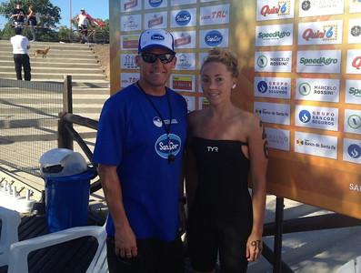 Rio Coronda, ARG 57k Swim - Lexie Kelly