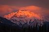 """Fiery Cascade"", Bow Valley, Alberta, Canada."