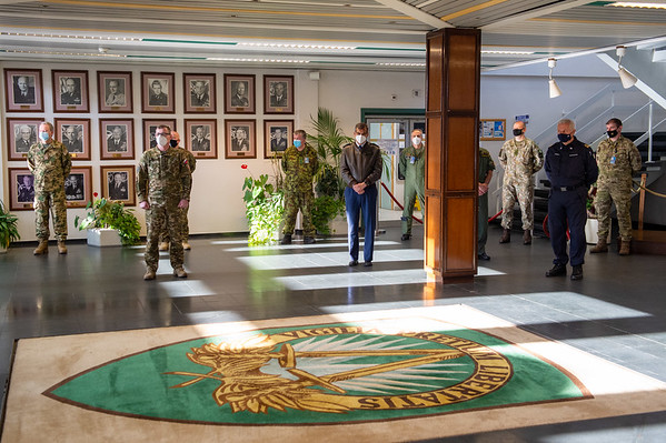 20210224 Major General Ciolponea Romanian NMR farewell