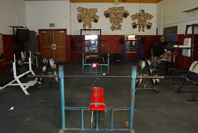 Douglass Weight Room Before/After 2008