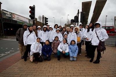 Dance Troupe 2011-2012 London Trip