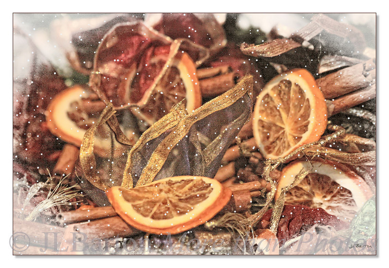 Winter Spices Orange and Cinnamon and Allspice and Ginger Wonderful for hot spiced wine