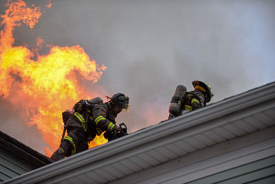 2 Alarm Structure Fire - Wendall St, Providence, RI - 7/11/20