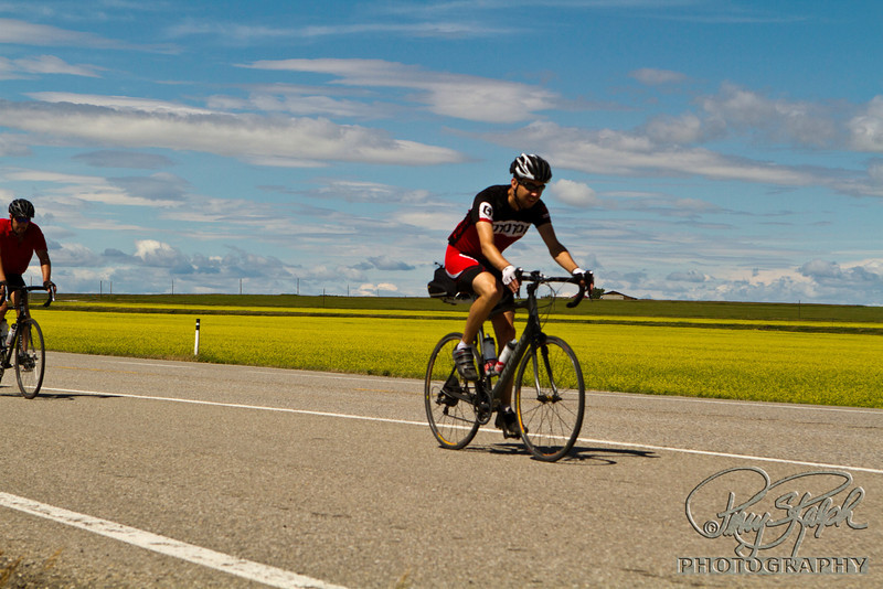 Maple Expedition Bike Tour - Day X:  A to B Canola Fields