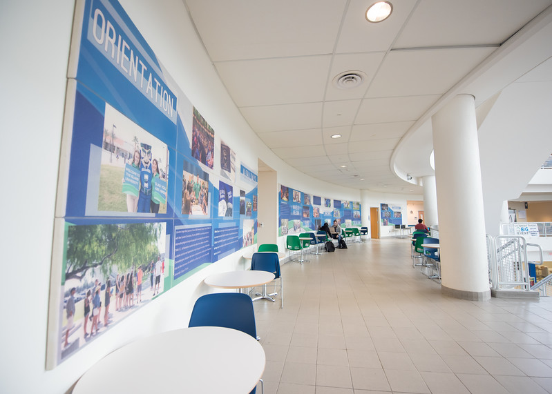 Come see the new wall installments in the University Center on the second floor! These installments have information about the different traditions here at the Island University.