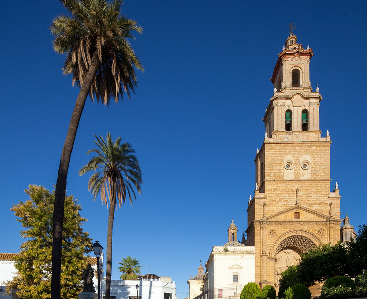 Santa Maria de la Mesa church, Utrera, Seville, Spain