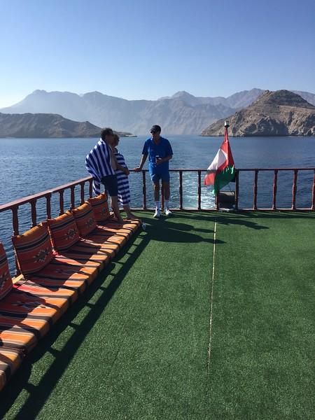 Natural scenery on the Musandam Peninsula in Oman - Bridget St. Clair