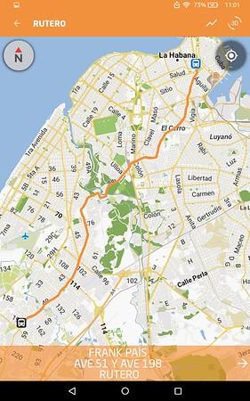 Havana Taxi Rutero Routes