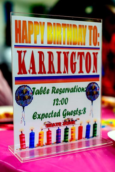 Karrington 9th Birthday
