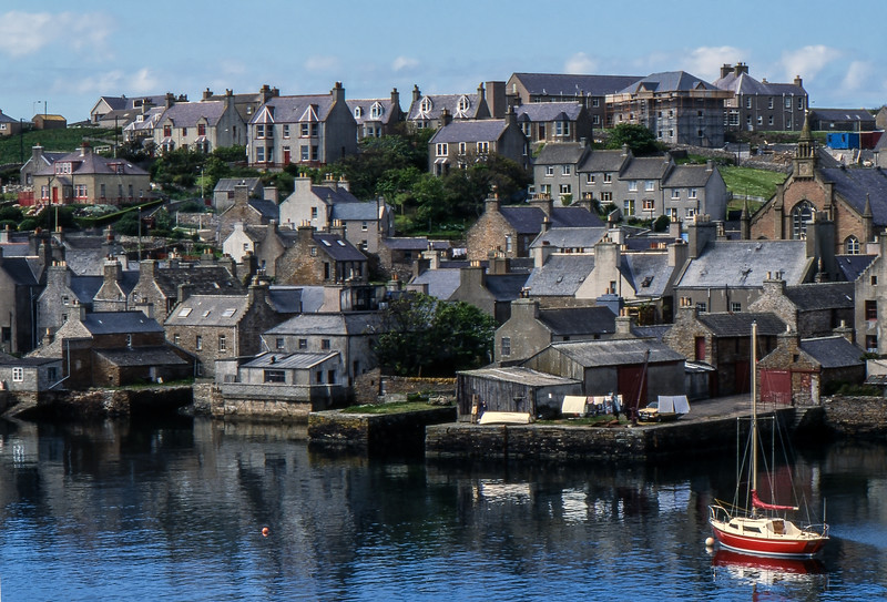 Stromness - Orkney, Scotland, UK - June 4, 1989