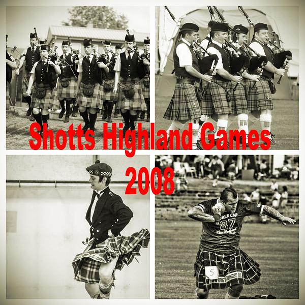 The 2008 Shotts Highland Games