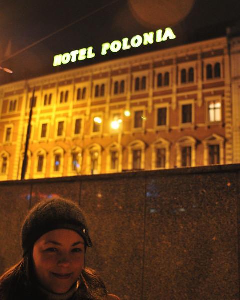 Zoya has fond memories of hotel Polonia.