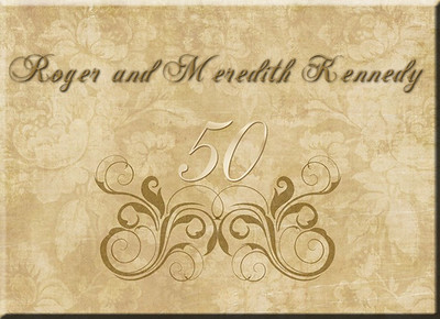 Roger and Meredith Kennedy - 50th Anniversary
