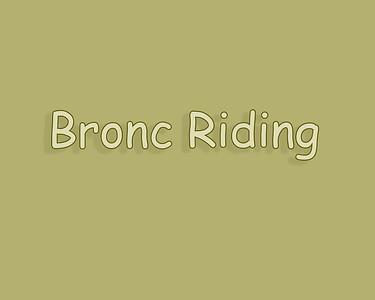 Raymond 2018 Saturday Bronc Riding
