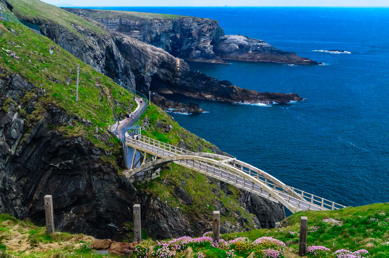 Mizen Head Irish Lights Signal Station at Ireland's most Southwesterly Point.