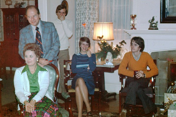 Christmas at the Lyles, c. 1975