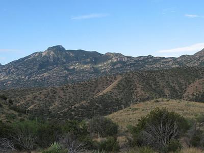 Rincon Peak - Nov. 6, 2009