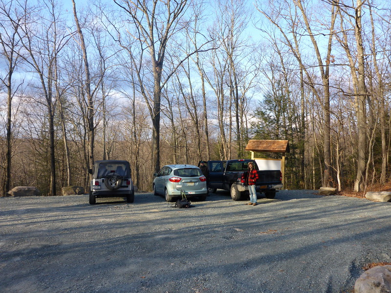 New parking area along Route 6 in Deerpark.
