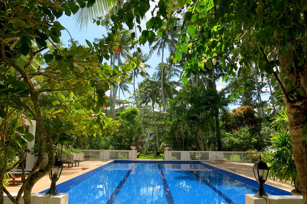 Swimming pool at Surya Lanka Hotel