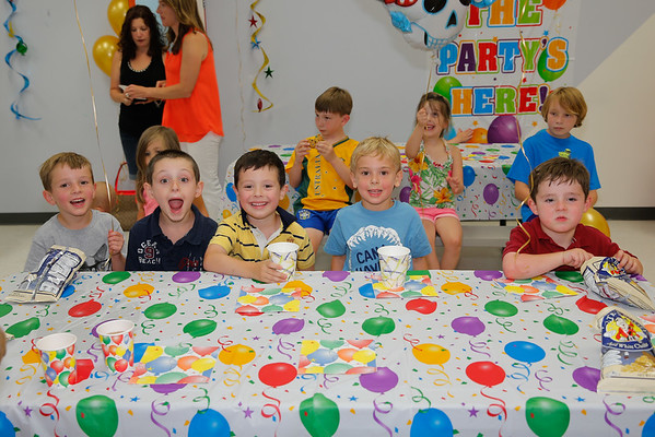 July | Jasons 5th Birthday Party